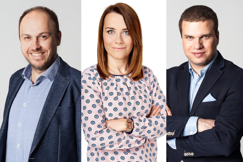 od lewej: Krzysztof Mocek, Anna Jarosz-Badziak, Artur Malinowski