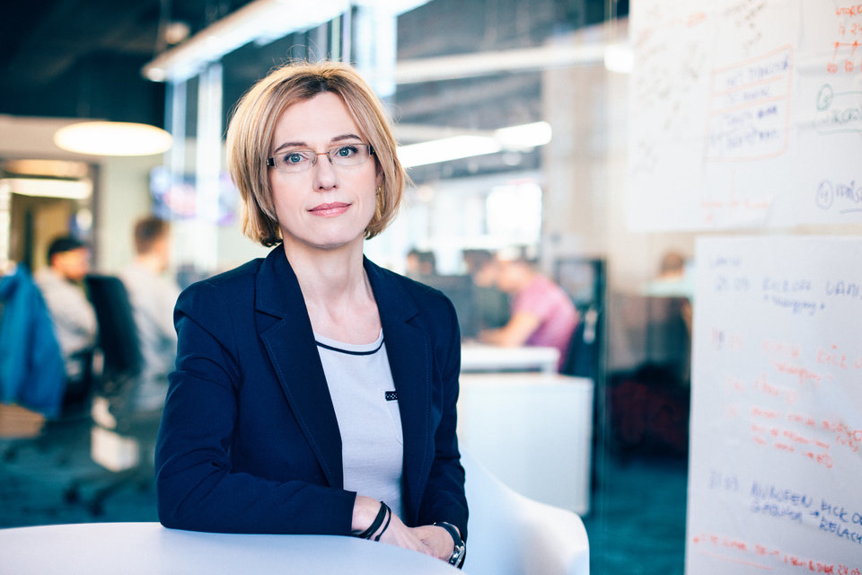 Agata Szeliga-Staszkiewicz, Managing Director Isobar Poland Group