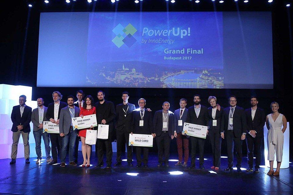 Laureaci PowerUp! 2017 podczas Wielkiego Finału w Budapeszcie