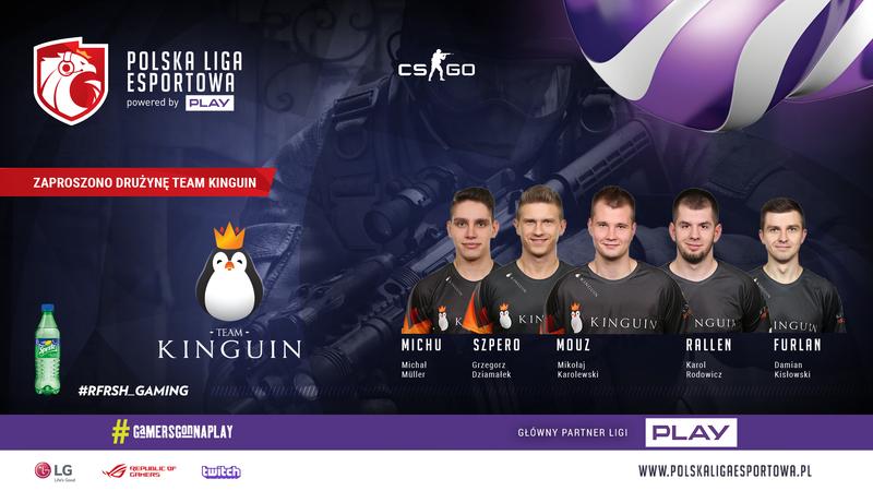 CS: GO Zaproszeni - Team Kinguin
