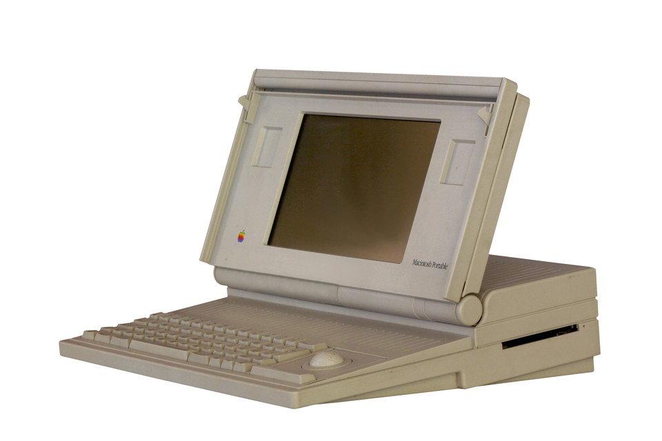 Macintosh Portable - pierwszy laptop stworzony przez Apple