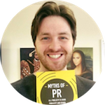 "Rich Leigh, Founder at Radioactive PR, author of the book ""Myths of PR"""