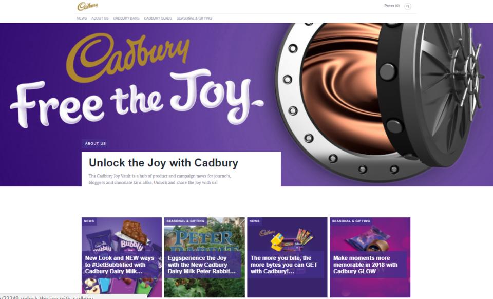 Cadbury's Brand Journal