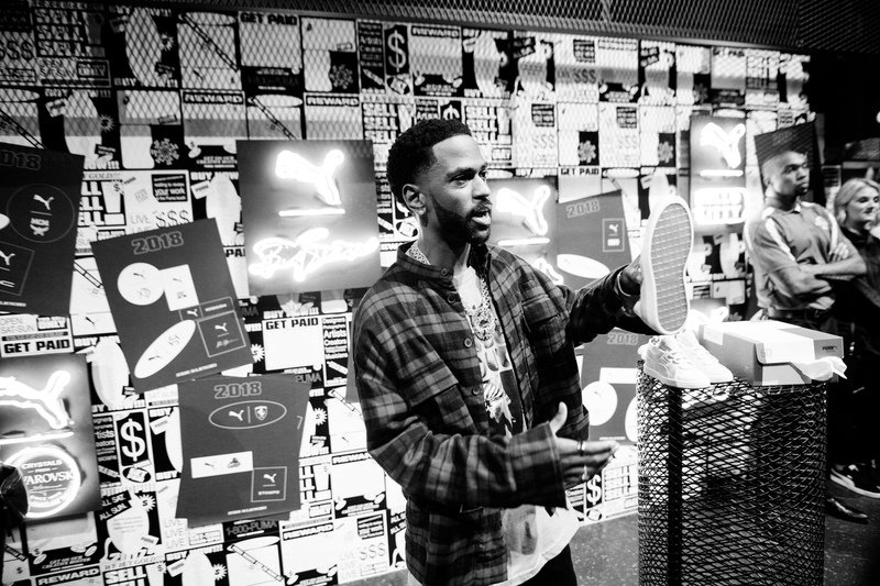 Big Sean at PUMA Booth (4).JPG