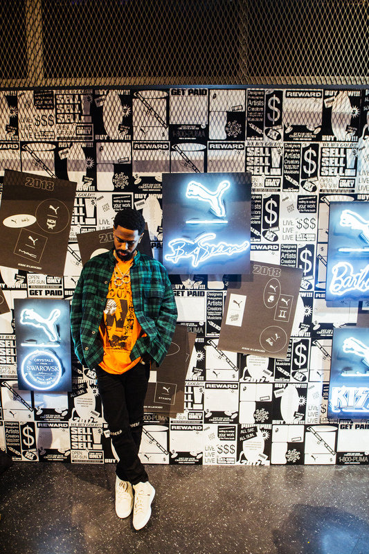 Big Sean at PUMA Booth.JPG