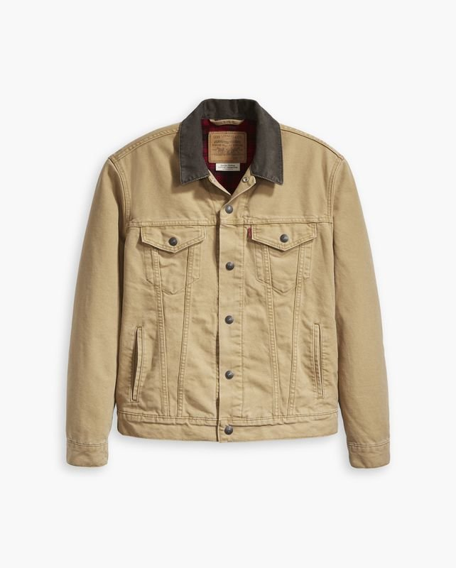Canvas Trucker Jacket Cotton Lined.jpg