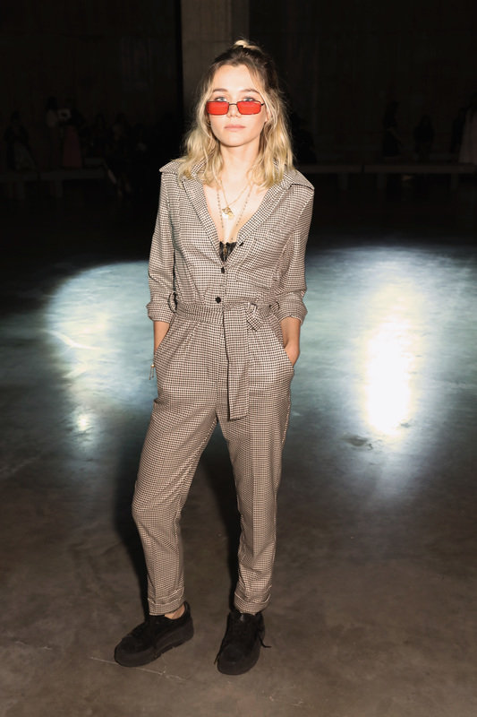 Immy Waterhouse wears MANGO playsuit LFW - Rights from 11102018 PR+SM WW.jpg
