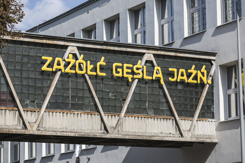 Kolaboracja Oskara Zięty i Threedotstype<br>foto: Rafał Kołsut / Traffic Design