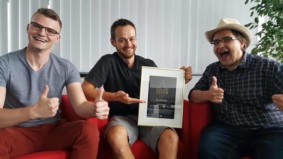 Zespół Hitspot Media z wyróżnieniem w konkursie Golden Arrow 2017