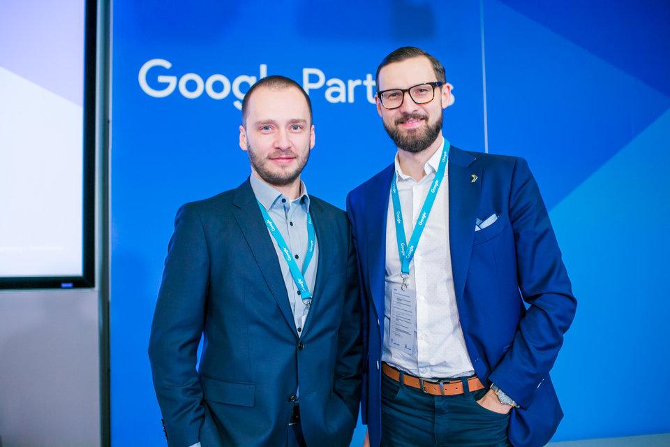Maciej Gałecki, CEO, Bluerank, oraz Tomasz Sąsiadek, Client Service Director, Bluerank