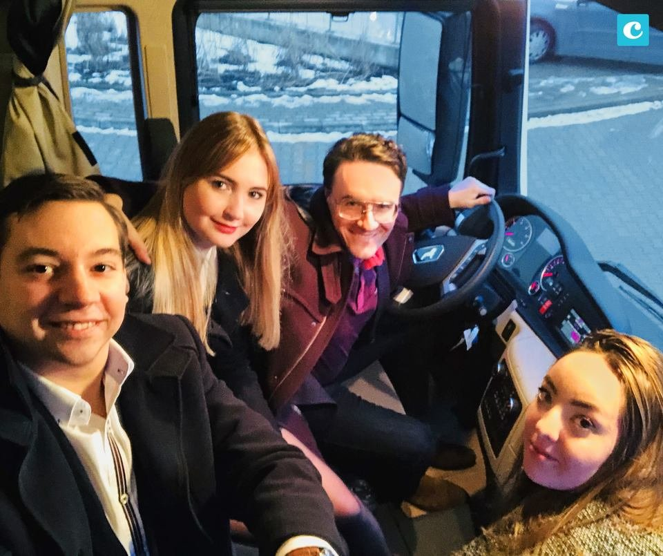 Zespół Click Community: Rahim Blak, Rafał Paciorek, Roksana Wąż, Michalina Pałczyńska.