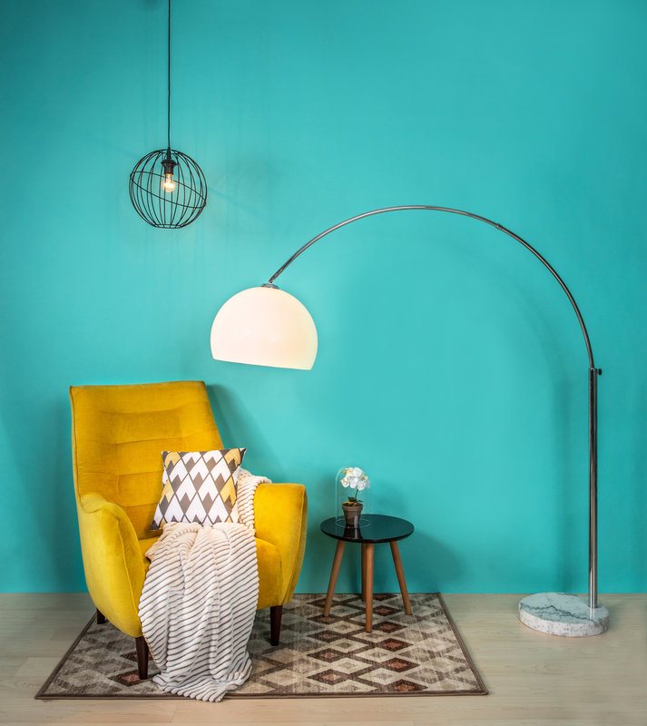 lampa podłogowa Vision, lampa wisząca Orbita, dywan Aster.jpg
