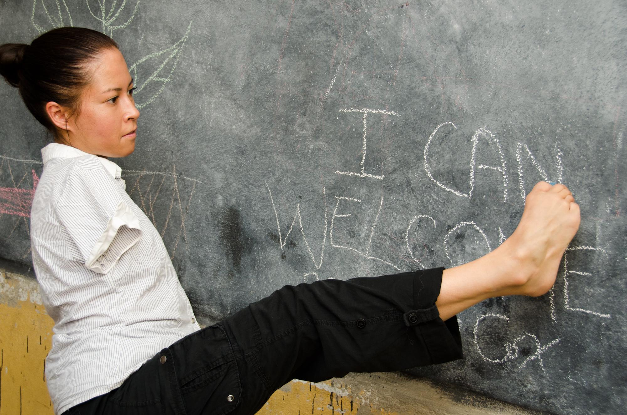 Życie bez rąk: historia Jessiki Cox