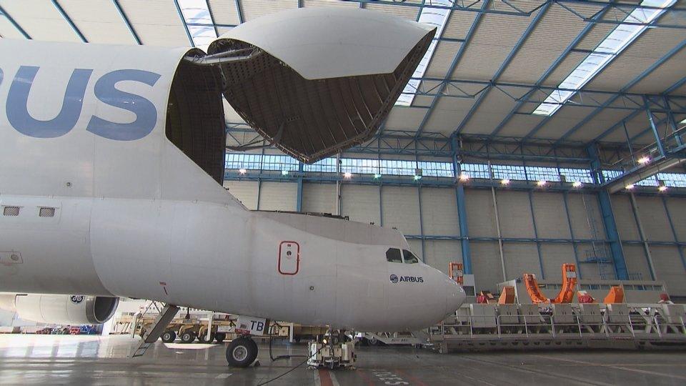 Airbus A300-600 S.T. Beluga 3 Giganty w powietrzu, premiera 8 stycznia o 2200 na kanale National Geographic.jpg