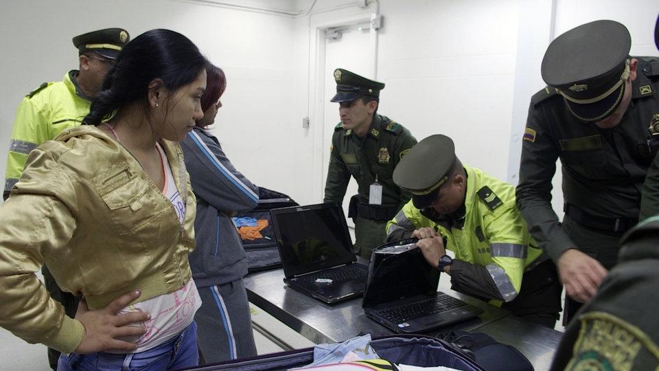 Alarm na lotnisku - Peru.JPG