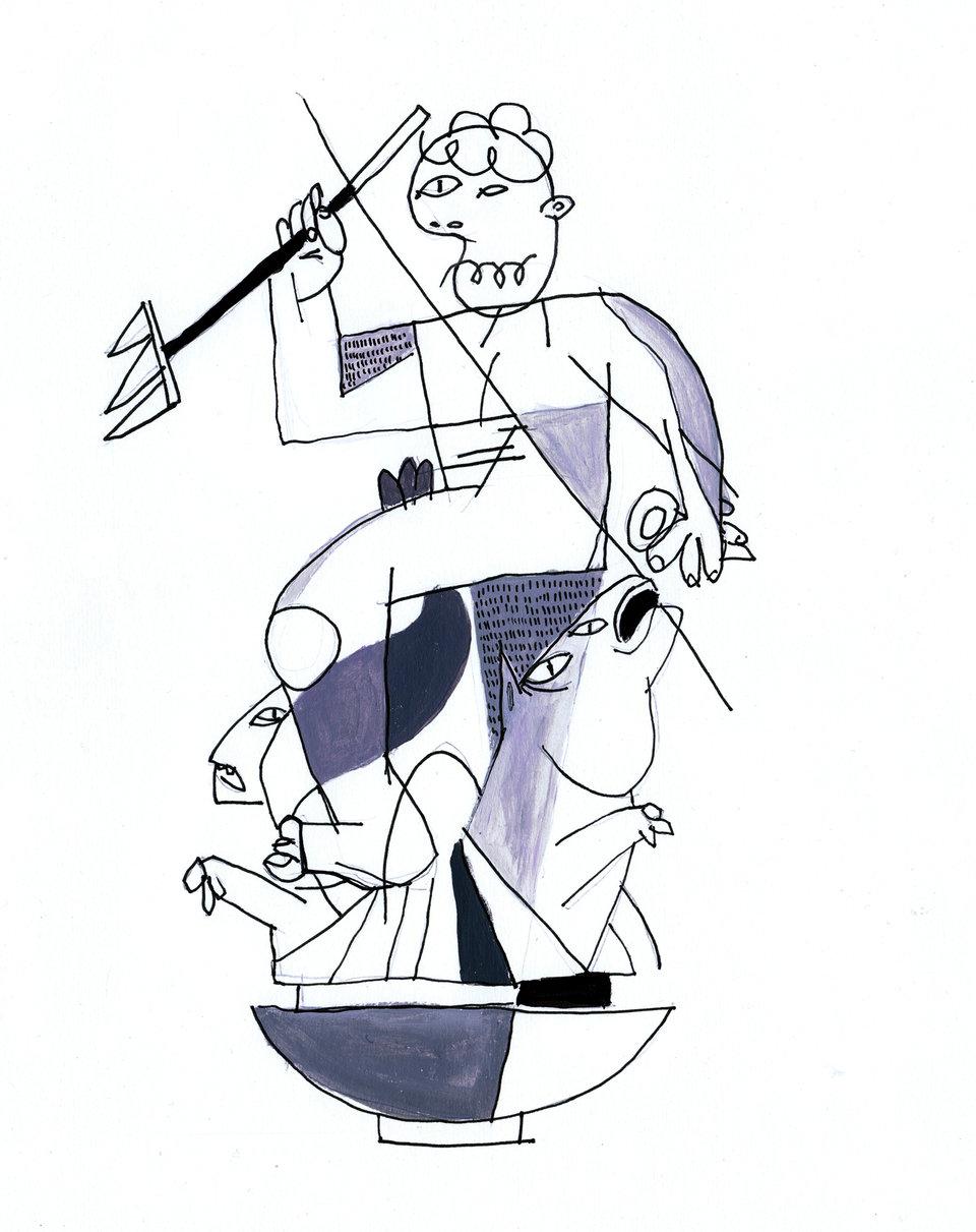Gdański Neptun autorstwa Macieja Lendy