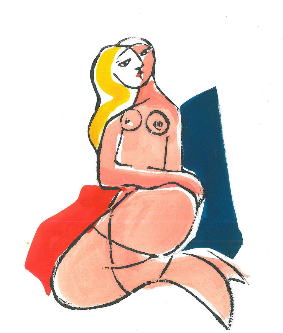 Syrenka Warszawska autorstwa Alicji Twarowskiej