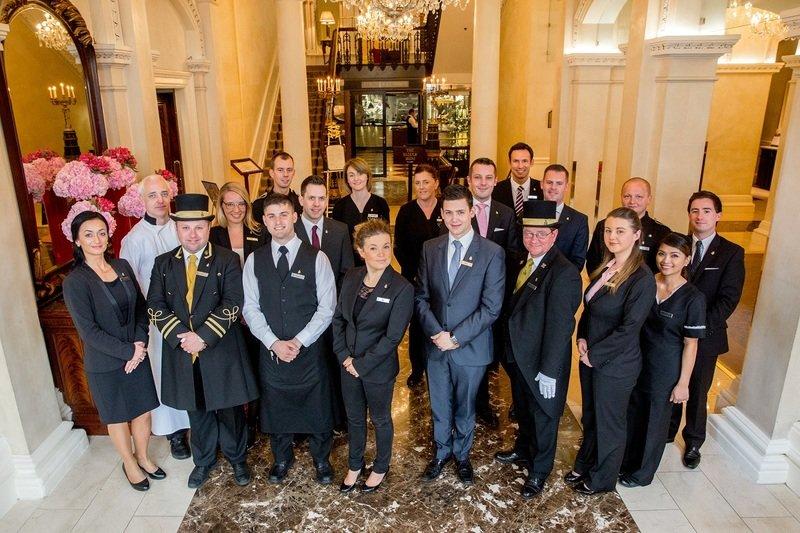 Luksusowe hotele: Shelbourne