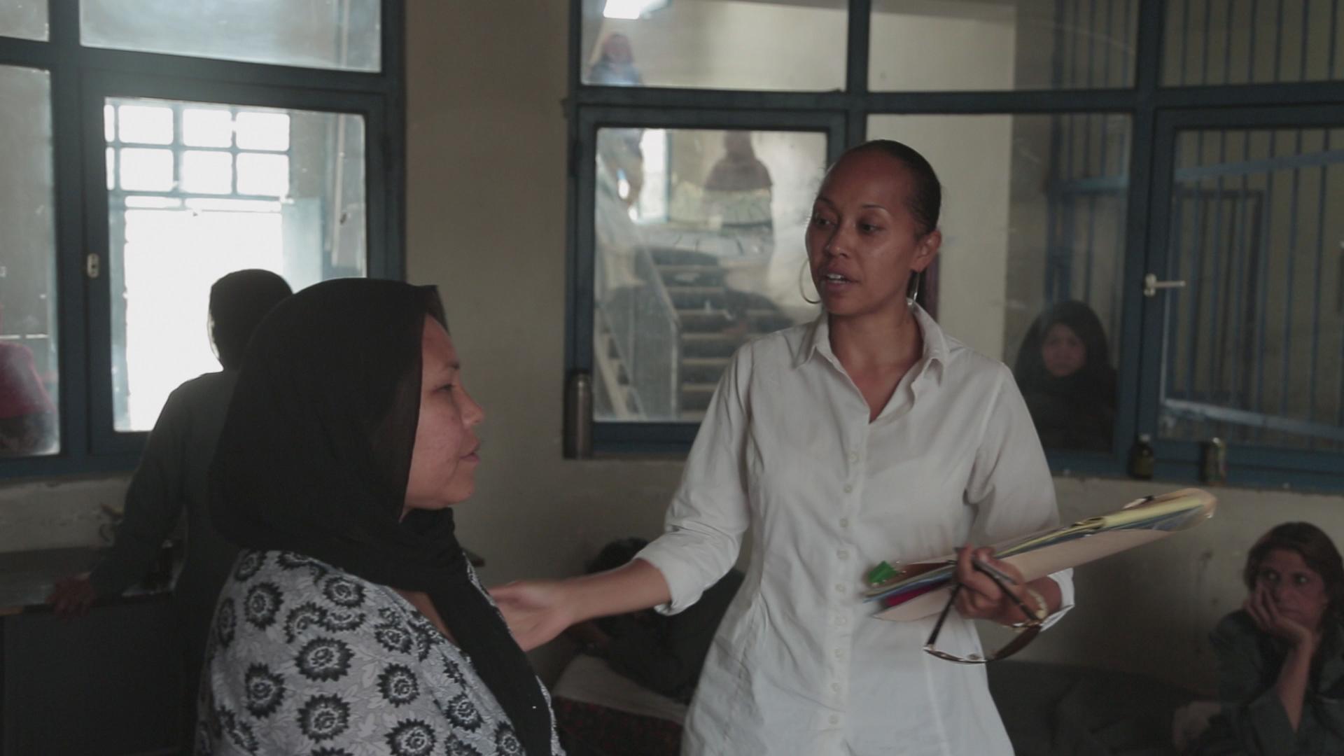 Prawniczka w Afganistanie