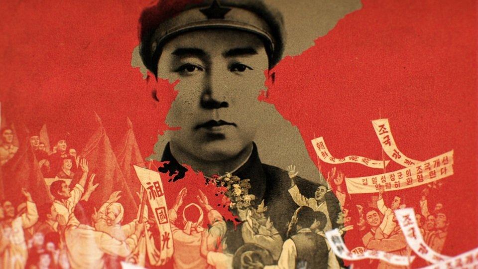 Kim Ir Sen jako wojownik armii koreańskiej <br><br>Źródło: National Geographic