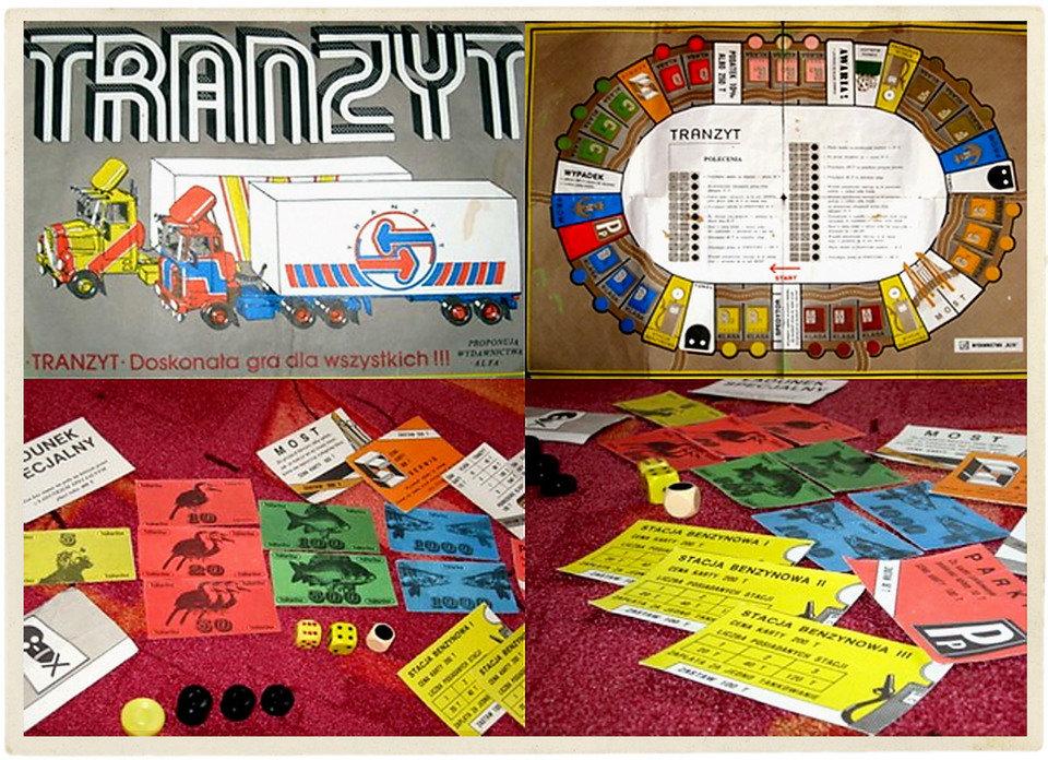 """Gra """"Tranzyt"""". Źródło: nostalgia.pl"""