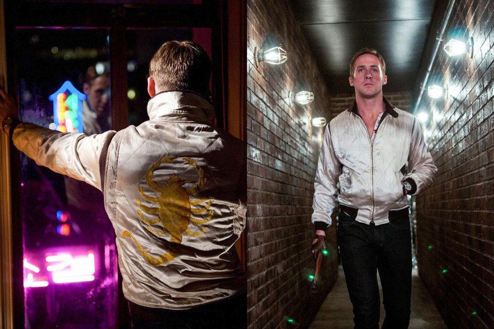 """Na zdjęciu: Kadr z filmu """"Drive"""" z Ryanem Goslingiem. Źródło: gq.com"""