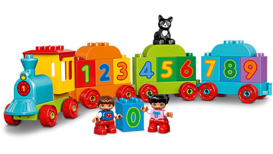 Lego Education, Matematyczny pociąg. Źródło: lego.com