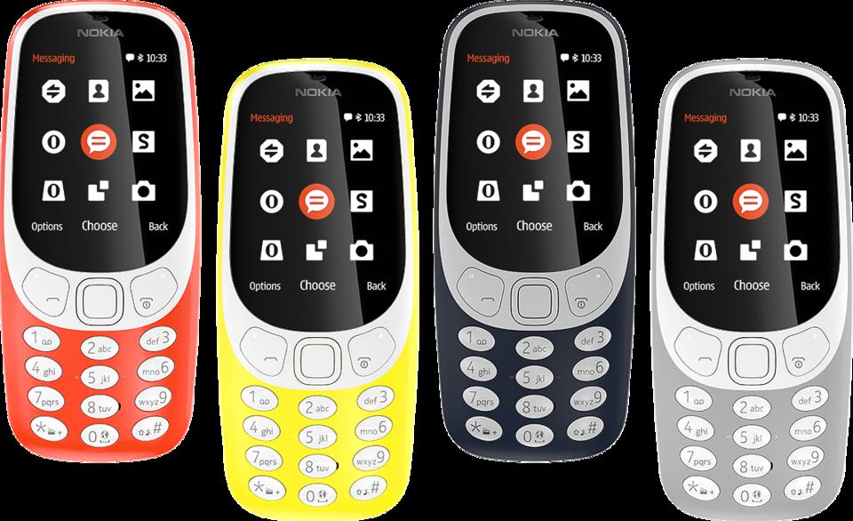 Nowa nokia 3310. Źródło: nokia.com