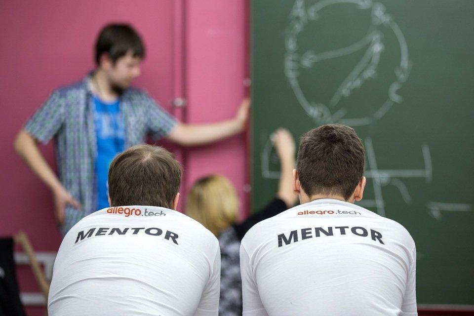 Podczas hackathonu Allegro oferuje pomoc mentorów.