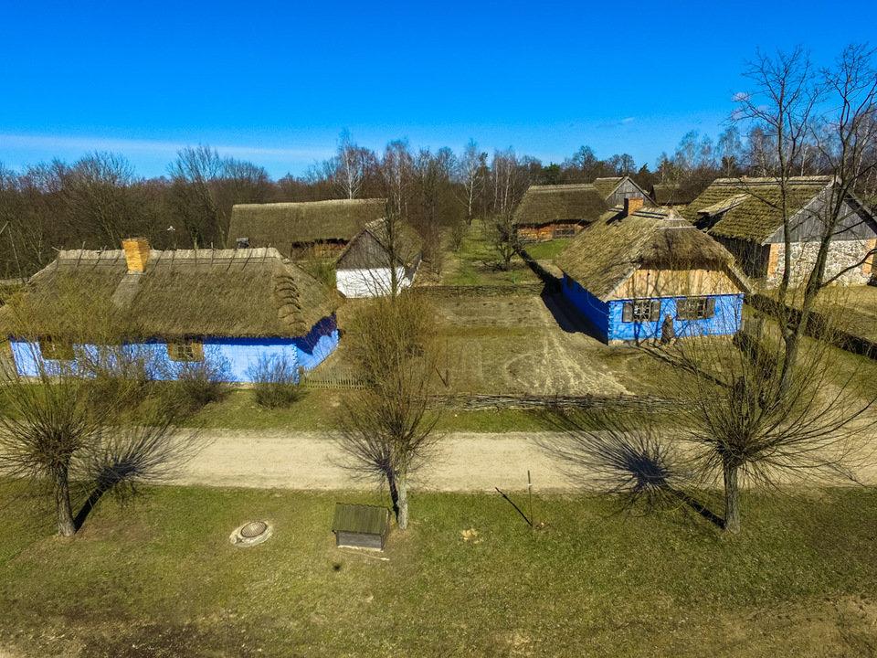 Na zdjęciu: skansen w Sierpcu. Fot. dzieckowdrodze.pl