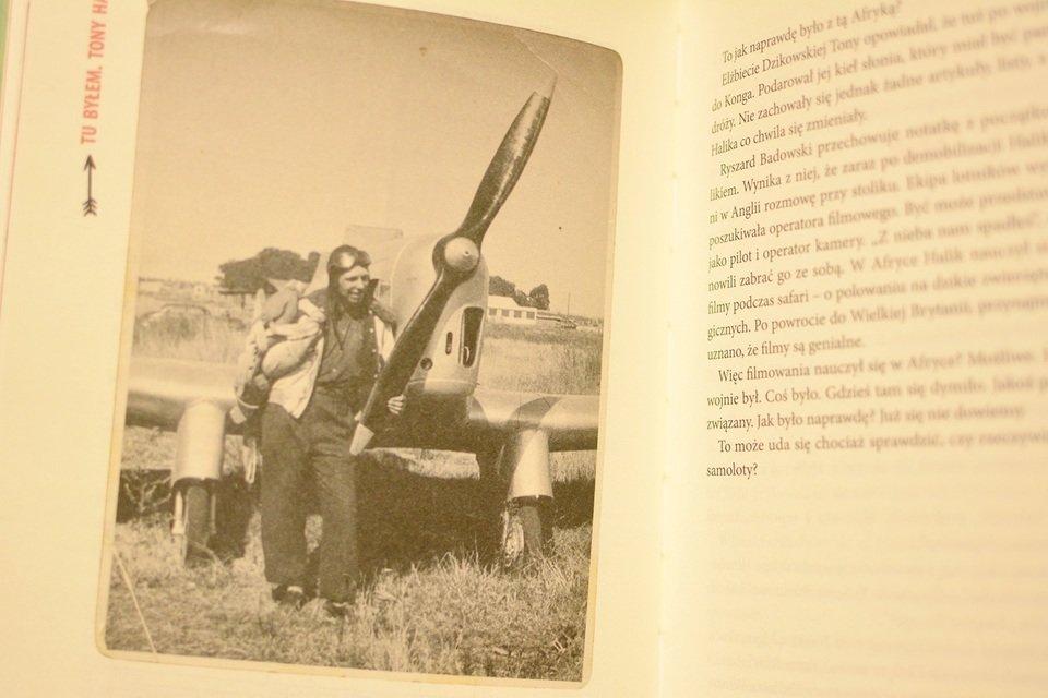 Jeśli wierzyć temu, co mówił Tony Halik, to w czasie wojny był lotnikiem RAF-u.