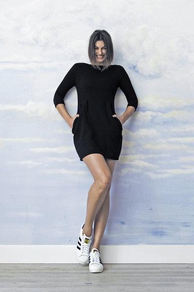 Na zdjęciu: sukienka Risk. Made in Warsaw. Źródło: www.riskmadeinwarsaw.com