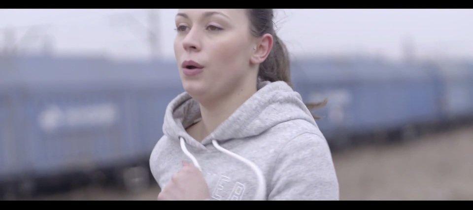 Kadr z filmu o Ani. Na zdjęciu: Ania