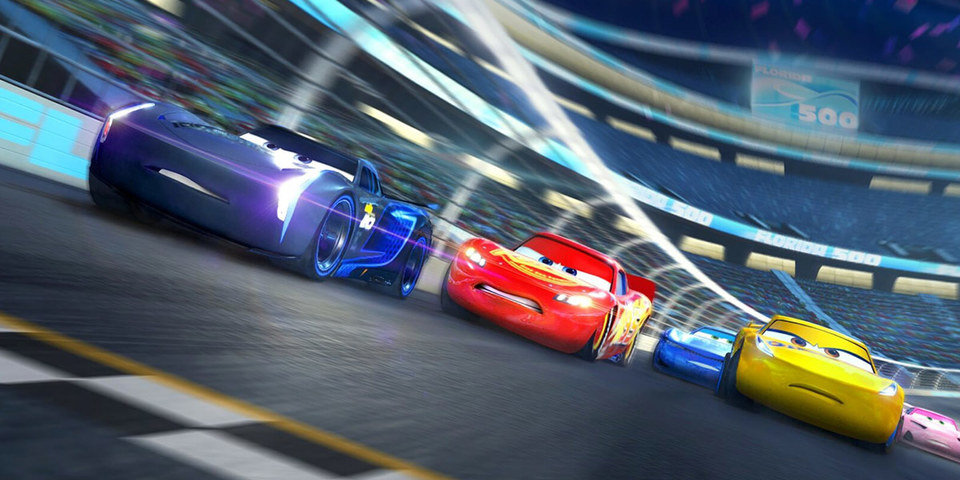 """Kadr z filmu """"Cars 3"""""""