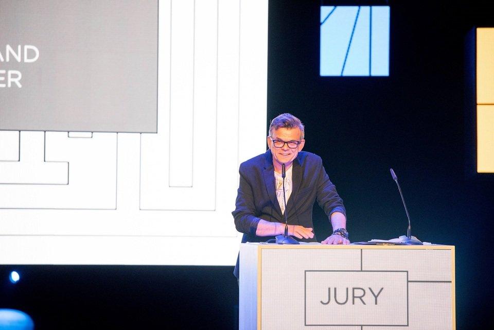 Na zdjęciu: Przemysław Bogdanowicz, przewodniczący jury konkursu KTR. Fot. Darek Kociak