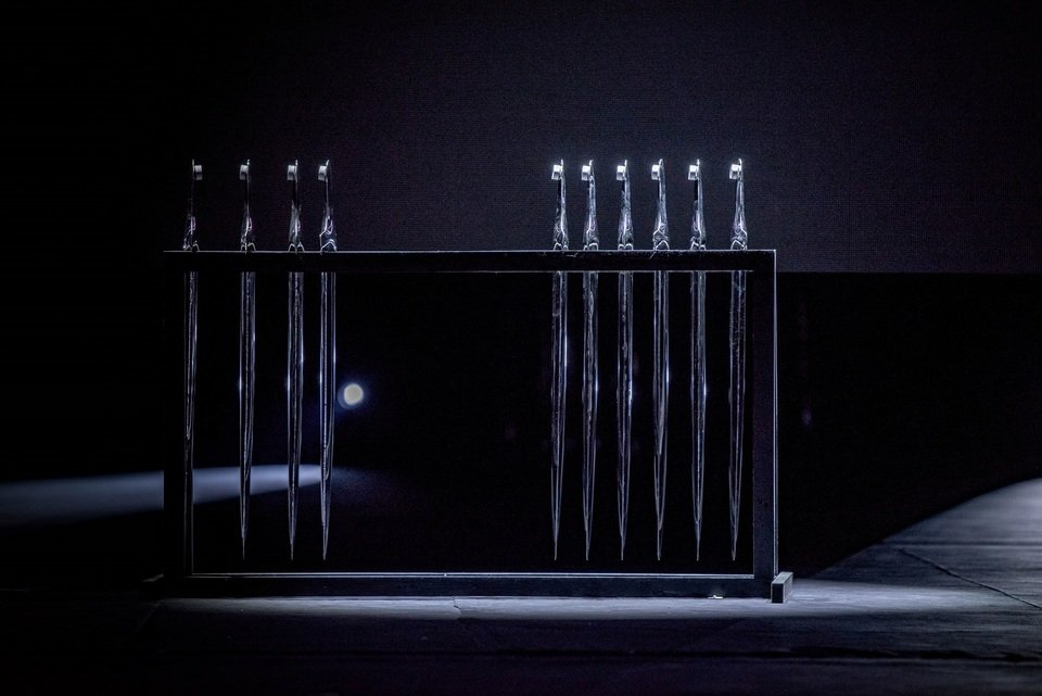 Miecze - nagrody w KTR. Fot. Darek Kociak