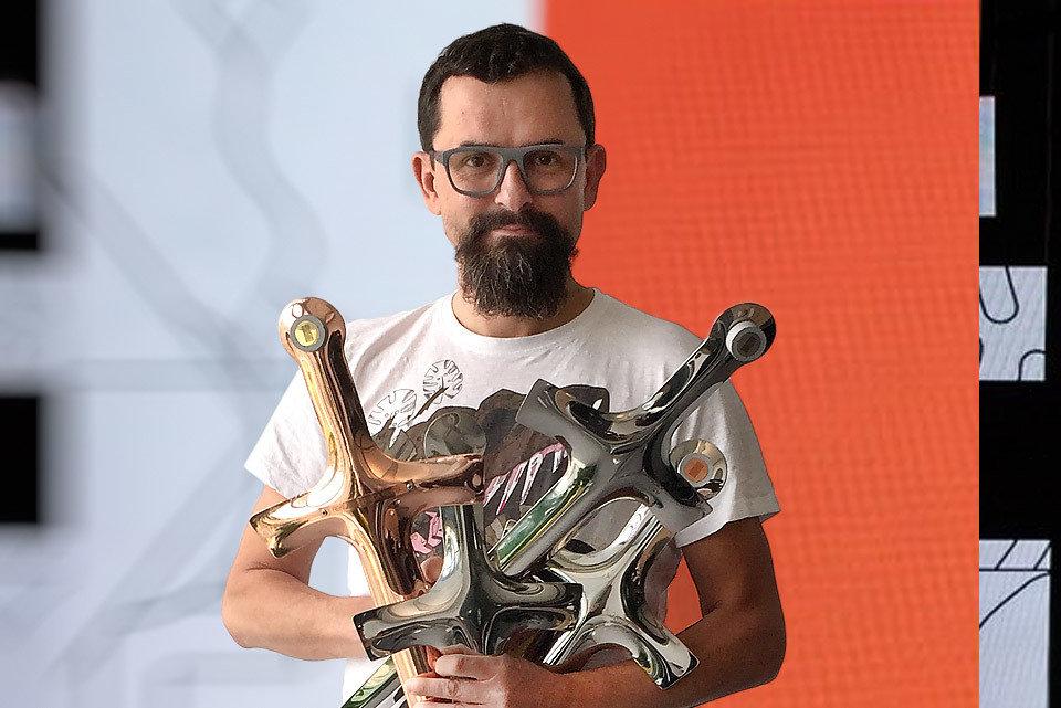 Na zdjęciu: Marcin Dyczak, dyrektor marketingu Allegro. Fot. Michał Bonarowski. Opracowanie graficzne: DB Creative Factory