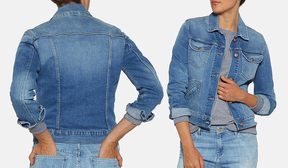 Dżinsowa kurtka miewa różne odsłony, w zależności od trendów, ale nigdy nie można powiedzieć, że jest passé.