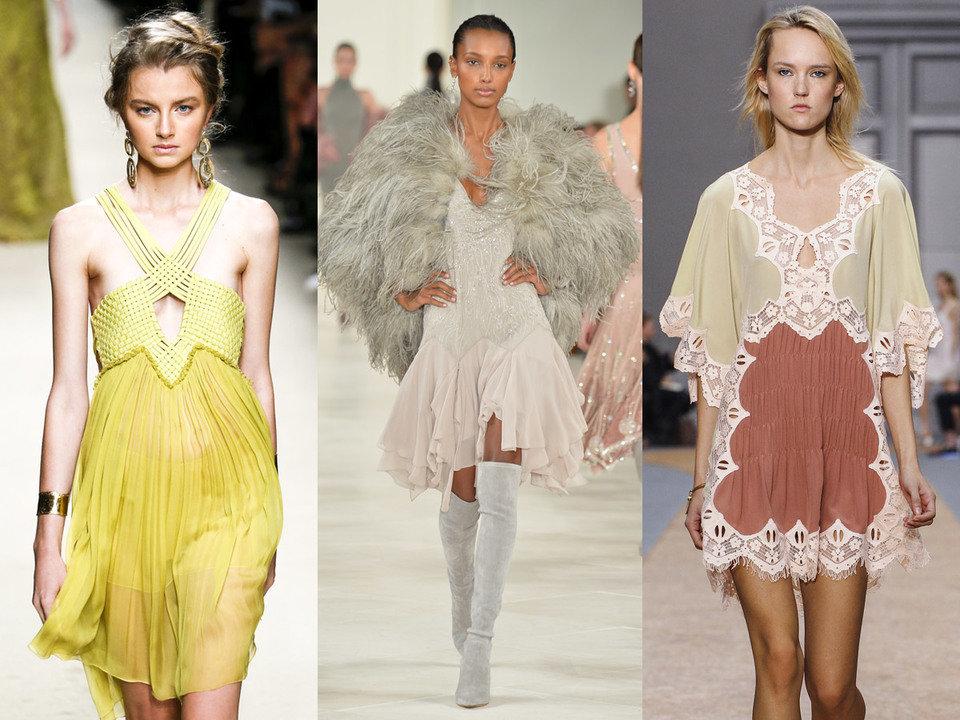 Delikatne sukienki typu slip dress możemy nosić cały rok. Wystarczy połączyć ją z futrem, golfem czy zimowymi kozakami za kolano.