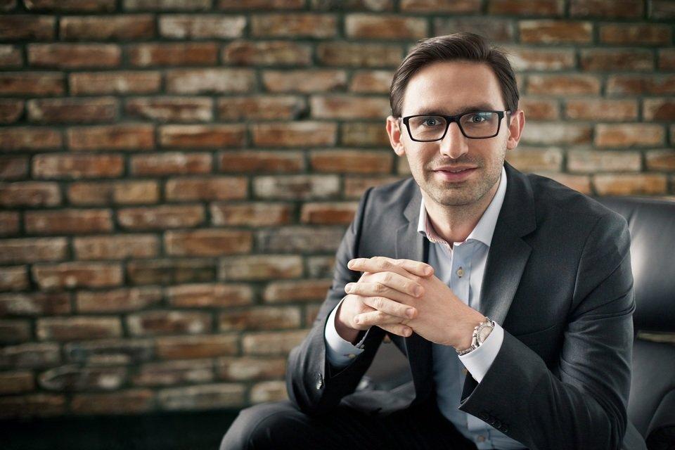 Na zdjęciu: Michał Leszek, który sprawuje pieczę nad promocją firmy i jej marek. To właśnie on jest twórcą Kruger&Matz.