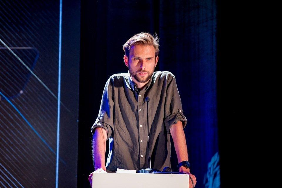 Na zdjęciu: Michał Krygier, dyrektor kreatywny GDP Agency i członek jury Papaya Young Directors