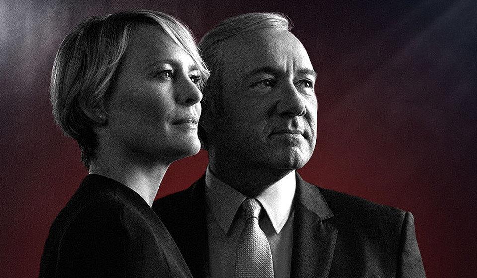 """W piątym sezonie """"House of Cards"""" mamy do czynienia ze skorumpowanym i za wszelką cenę chętnym utrzymania się u władzy karierowiczem. Fot. materiały prasowe Netflix"""