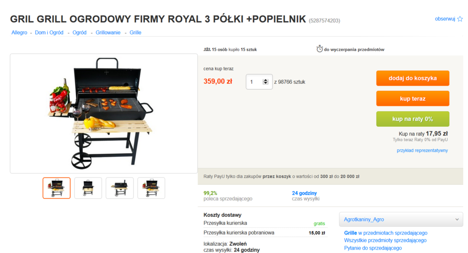 Nr 3 - Grill ogrodowy firmy royal.PNG