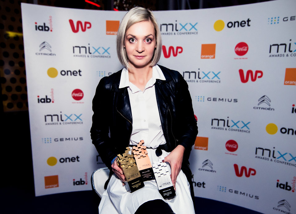 Na zdjęciu: Anna Iller, Branded Content Manager w Allegro. Fot. Darek Kociak