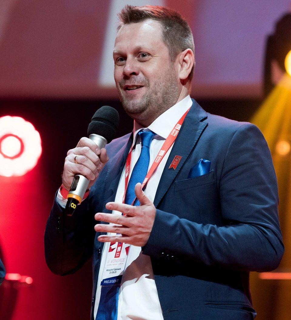 Na zdjęciu: Krzysztof Śpiewek