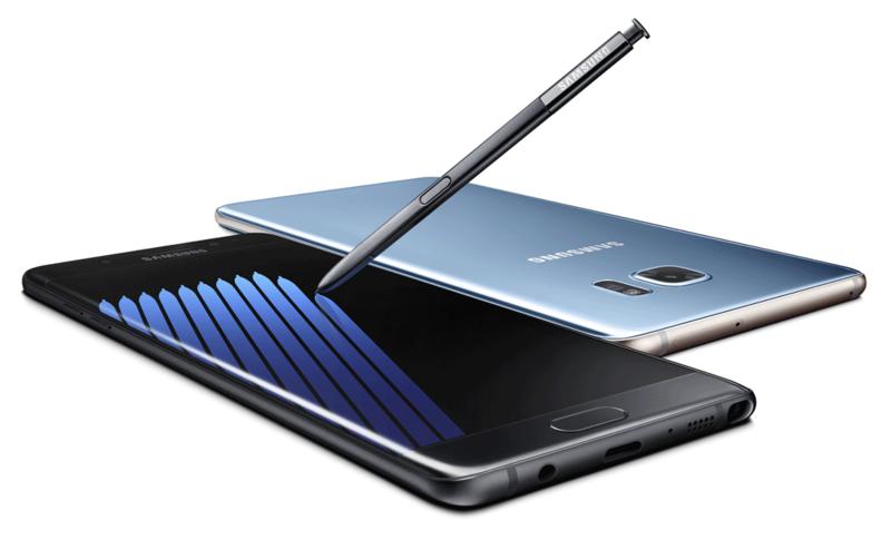 Na zdjęciu: Samsung Note 7