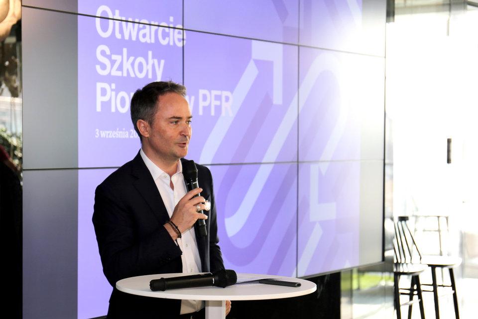 – <i>Szkoła pionierów będzie istotnym elementem polskiego ekosystemu start-upów</i> – mówił o projekcie Francois Nuyts, prezes Allegro.