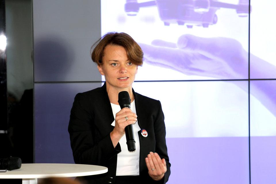 – <i>Mam nadzieję, że sprawicie, że polska gospodarka istotnie się zmieni. Liczę, że zdobędziecie odwagę, że dobrniecie do wyznaczonych przez siebie celów</i> – mówiła do młodych ludzi minister Jadwiga Emilewicz.