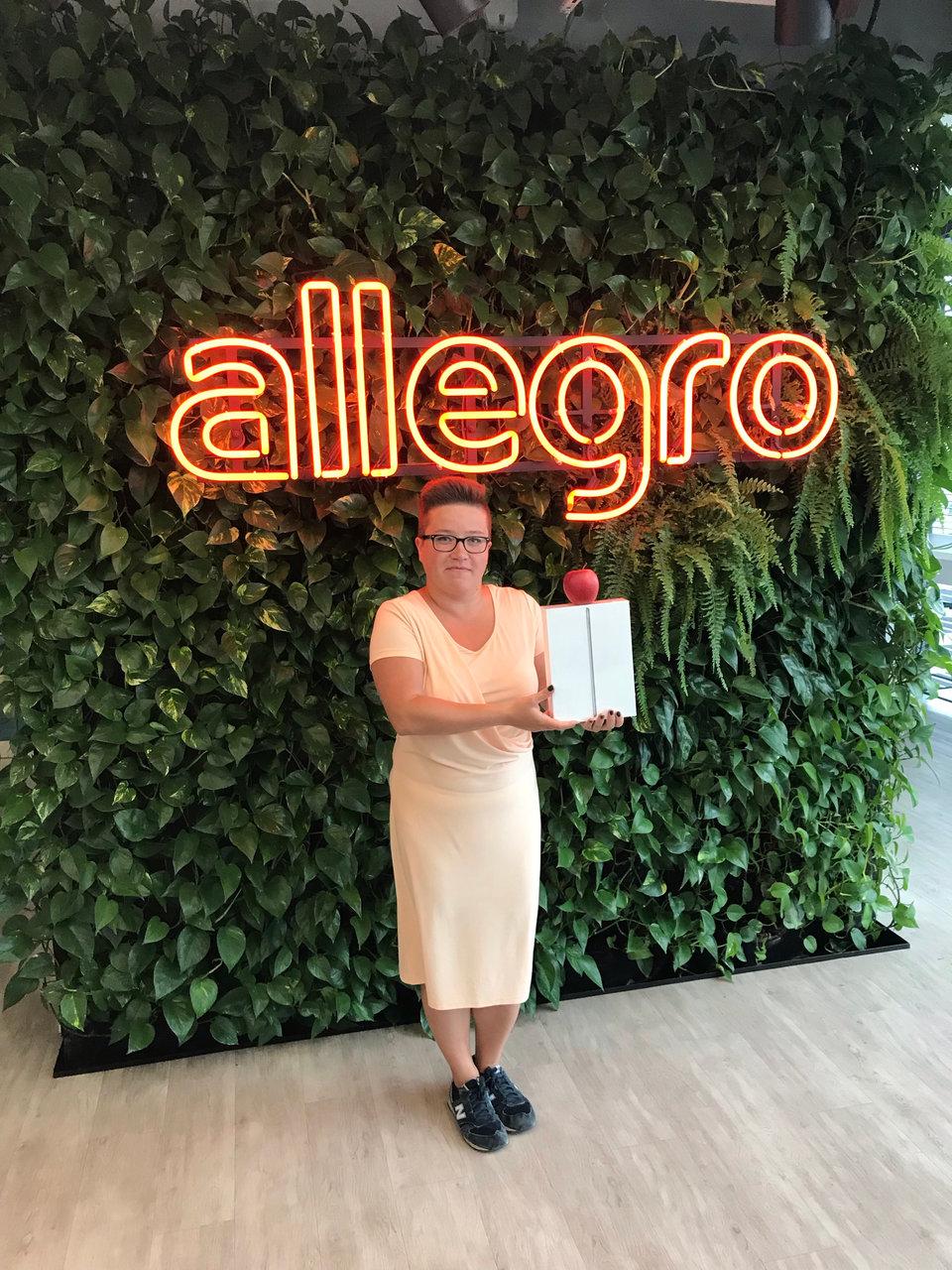 Dla Anny Zwitek, Category Owner w Allegro, zdobywczyni I miejsca, udział w wyzwaniu pracowniczym to nie tylko kondycja.