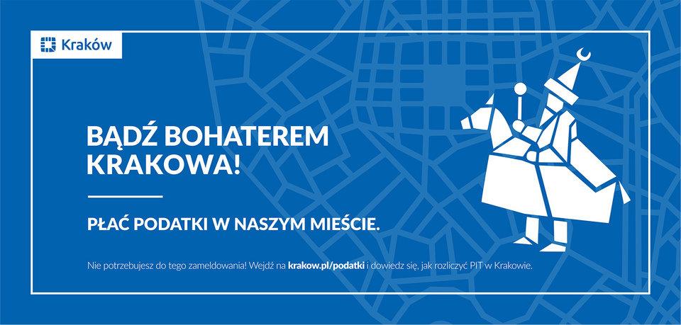 Bądź bohaterem Krakowa! mat.kampanijne<br>
